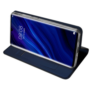 Huawei P30 PRO Case Shockproof Magnetic Flip Cover Blue