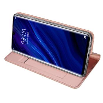 Huawei P30 PRO Case Shockproof Magnet Flip Cover Rose Gold-Pink