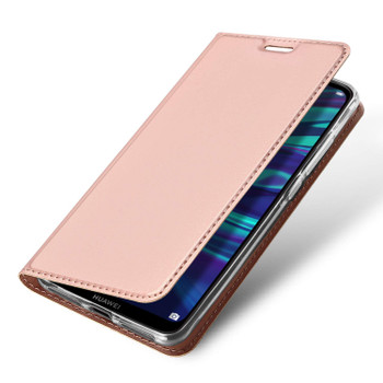 Huawei Y7 2019 Case Ultra Fit 360 Cover Rose Gold-Pink