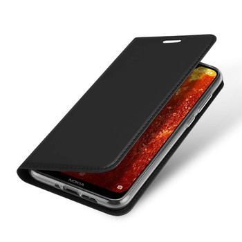 Nokia 8.1 Case Cover Fitted Phone Bumper Black