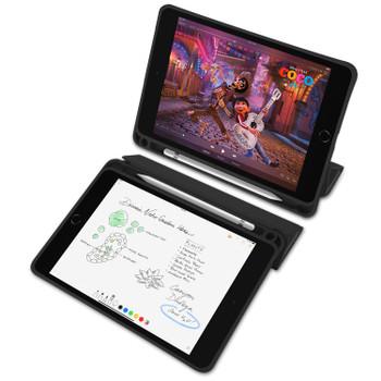 "iPad Mini 5 2019 [7.9"" Inch] Smart Case Cover with Pencil Holder Black"