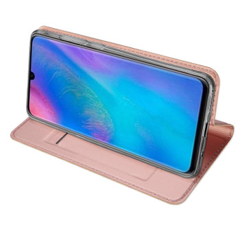 Huawei P30 LITE Case Shockproof Fitted Bumper Cover Light Pink