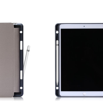 "iPad Air 10.5"" 2019 Smart Case Cover with Pencil Holder Black"