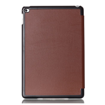 "iPad Mini 5 - 7.9"" Display Leather Smart Case Cover Brown"