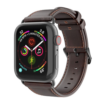 Apple Watch 44m Leather Strap
