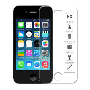 iPhone 4S 4 Tempered Glass Protector Front+Back