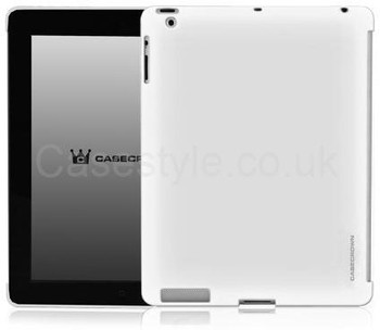 iPad 2 Case White Works With Smart Cover