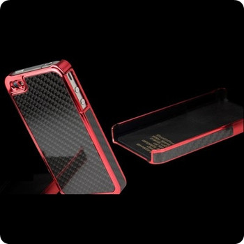 Ion Factory iPhone 4S 4 Stealth PredatorZero Case Red