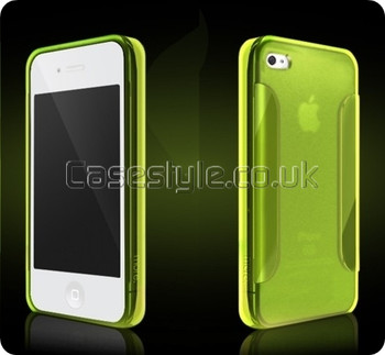 More iPhone 4S 4 Para Collection Case Green