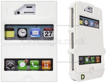 iPhone 4S 4 Defender Tank Armor Case White