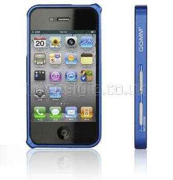 GGMM iPhone 4S 4 Aluminum Bumper Blue