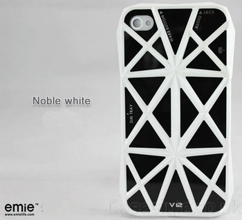 iPhone 4S 4 Emie Aventador Case White