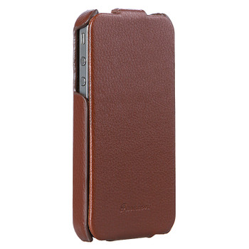 iPhone 4S 4 Ultra Lite Leather Case Brown