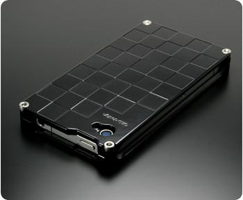 Gild Design iPhone 4S 4 Luxury Metal Case Full Black