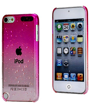 iPod Touch 6/5 Pink Clear Gradient Case