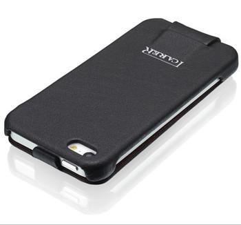 iCarer iPhone 5 5S Vogue Flower Leather Case Black