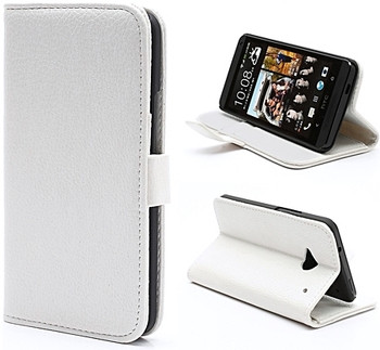 HTC One White Leather Case
