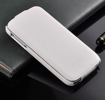 Samsung S4 White Leather
