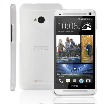 HTC One M7 Ultra Thin Case Clear