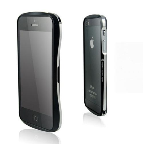 buy popular a3da9 12c5e Deff Cleave iPhone 5S 5 Aluminum Bumper Black