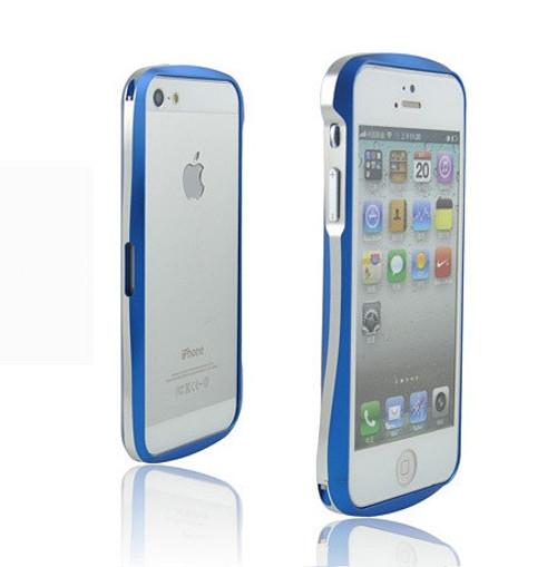 separation shoes 105f3 7ddb0 Deff Cleave iPhone SE Aluminum Bumper Blue