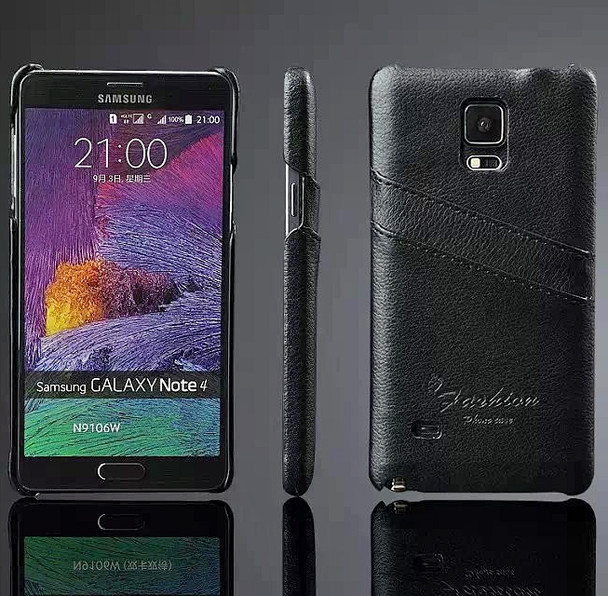 Samsung Note 4 Leather Back