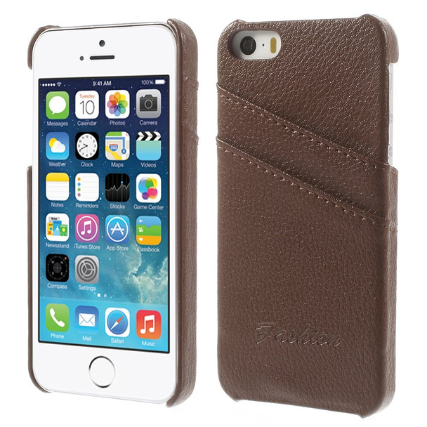 Genuine Leather Back iPhone