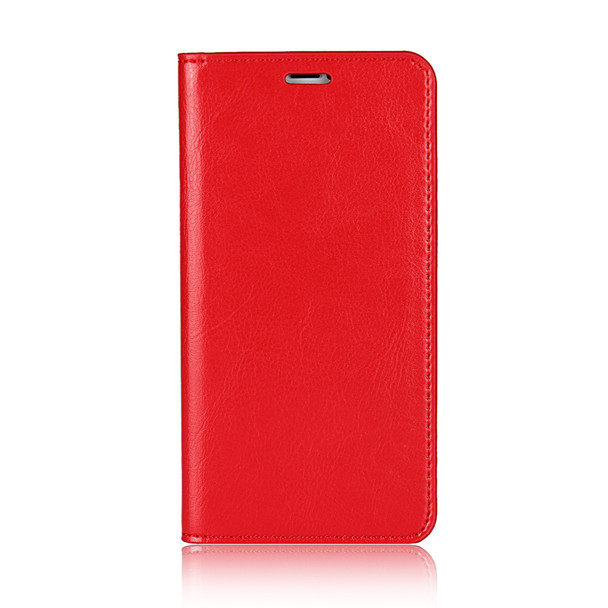 iPhone X Genuine Leather Wallet Case Red