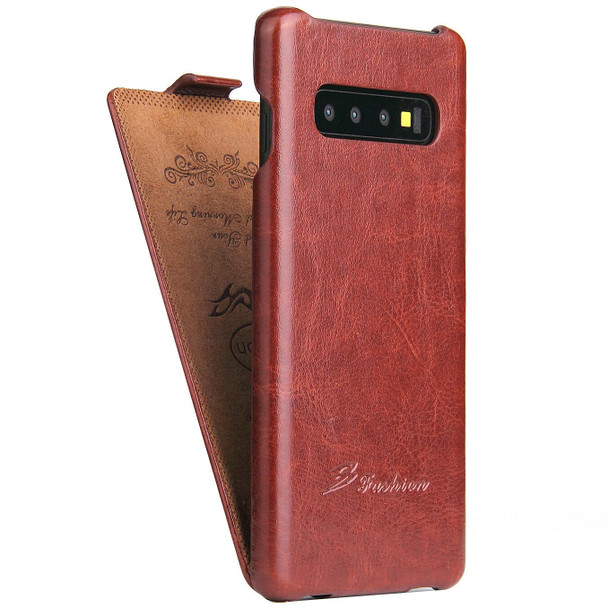Samsung S10 Leather Flip Case