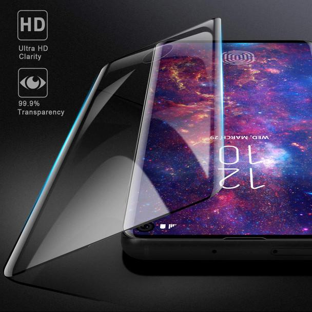 "Samsung Galaxy S10+""Plus"" Full Glass Screen Protector Fingerprint"