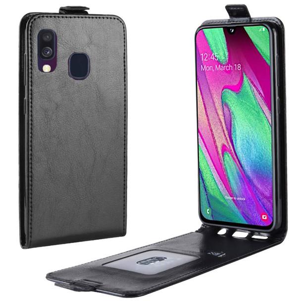 Samsung A40 Flip Up Case