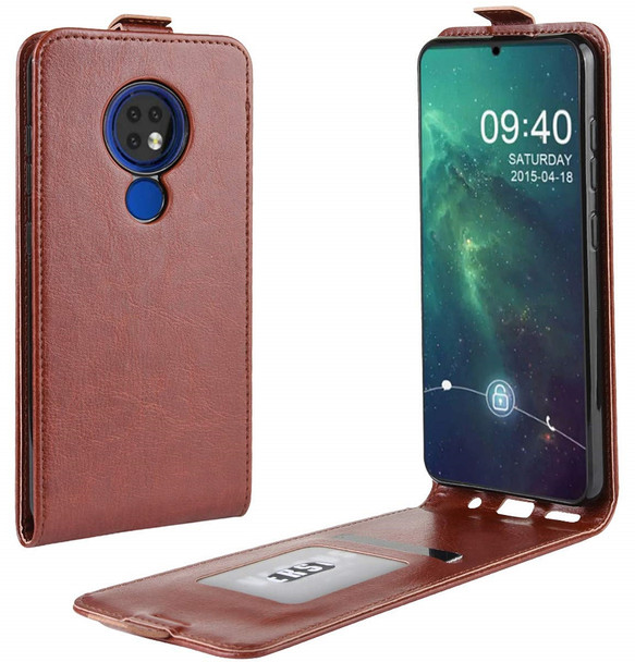 Nokia 7.2 Leather Case
