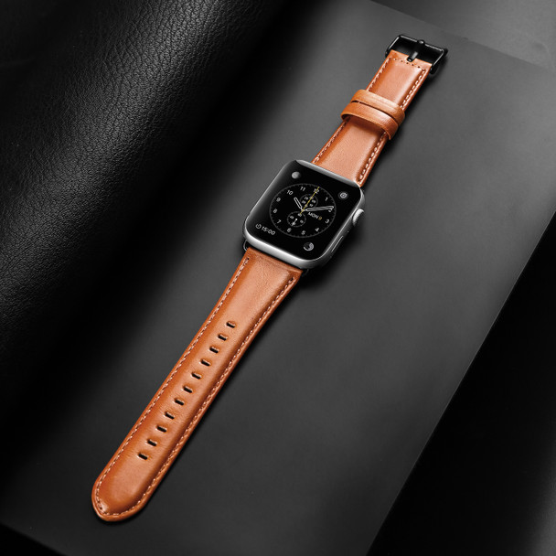 Apple Watch Series 5 Leather Strap