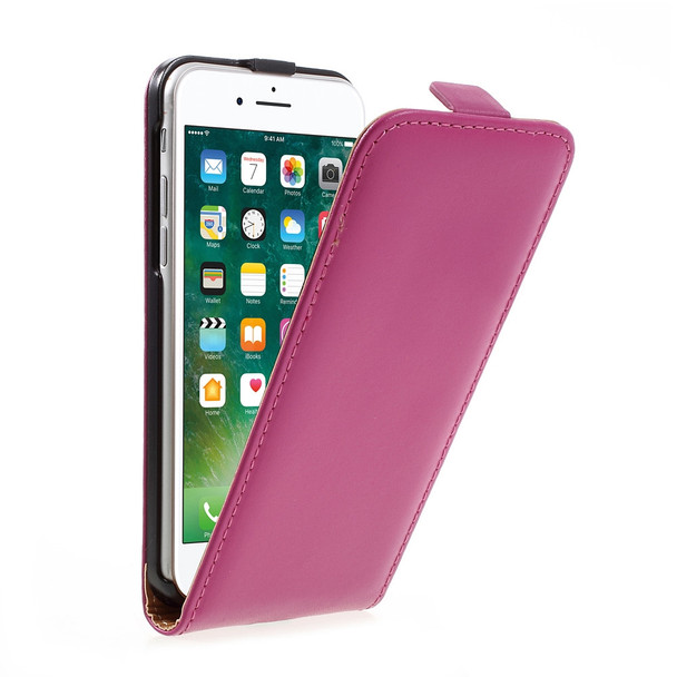 iPhone SE Leather Case Pink