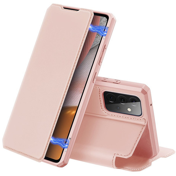 Samsung A72 Leather Case