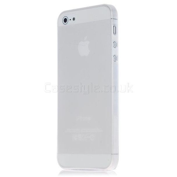 iPhone 5 5S Ultra Thin Frost Back Case Clear