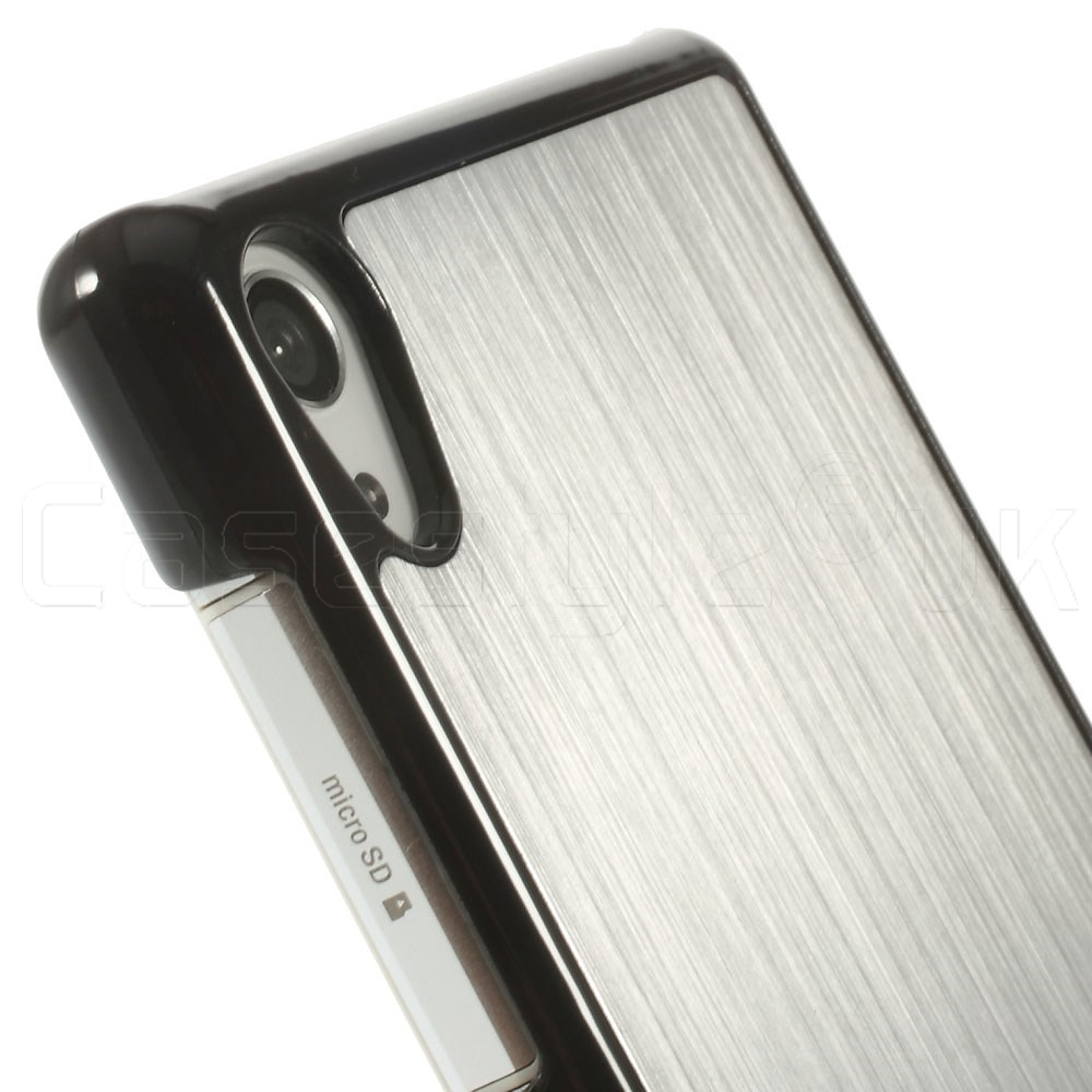 lowest price f7f9e 06603 Sony Xperia Z2 Back Cover Silver