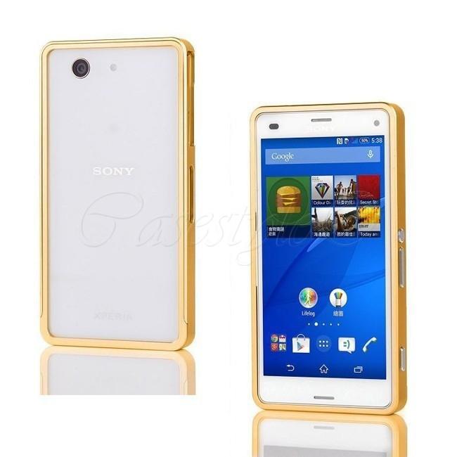 reputable site 124d2 5beba Sony Xperia Z3 Compact Bumper Case Gold