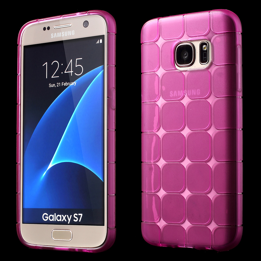 detailed look 38c1e cee20 Samsung Galaxy S7 Silicone Case Pink
