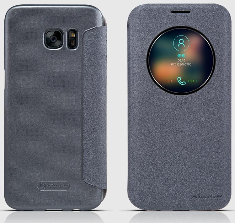 official photos d7d39 223d4 Nillkin Samsung Galaxy S7 EDGE App Window Smart Case