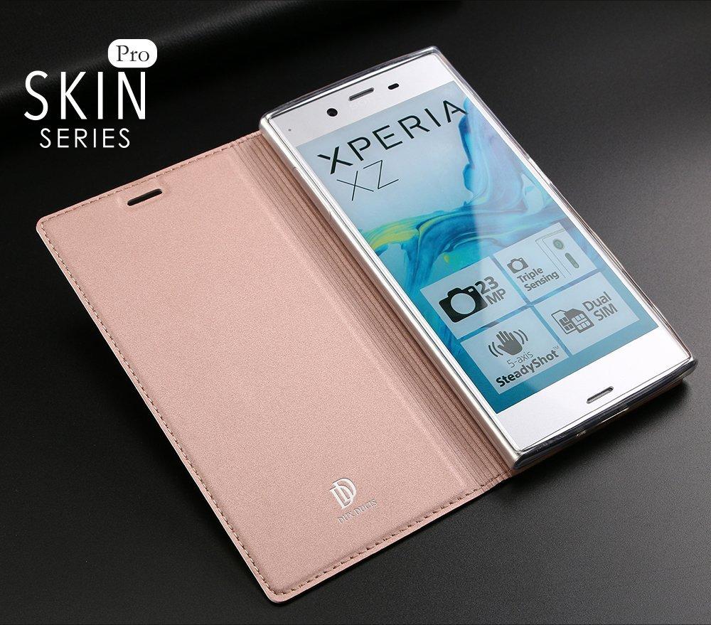 huge discount 4088b 1cec1 Sony Xperia XZ Flip Case Cover Rose Gold
