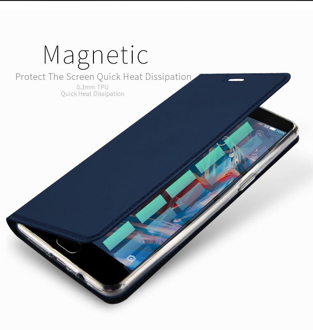 buy cheap 6b0df ef3b5 OnePlus 3T 3 Flip Case Cover Blue