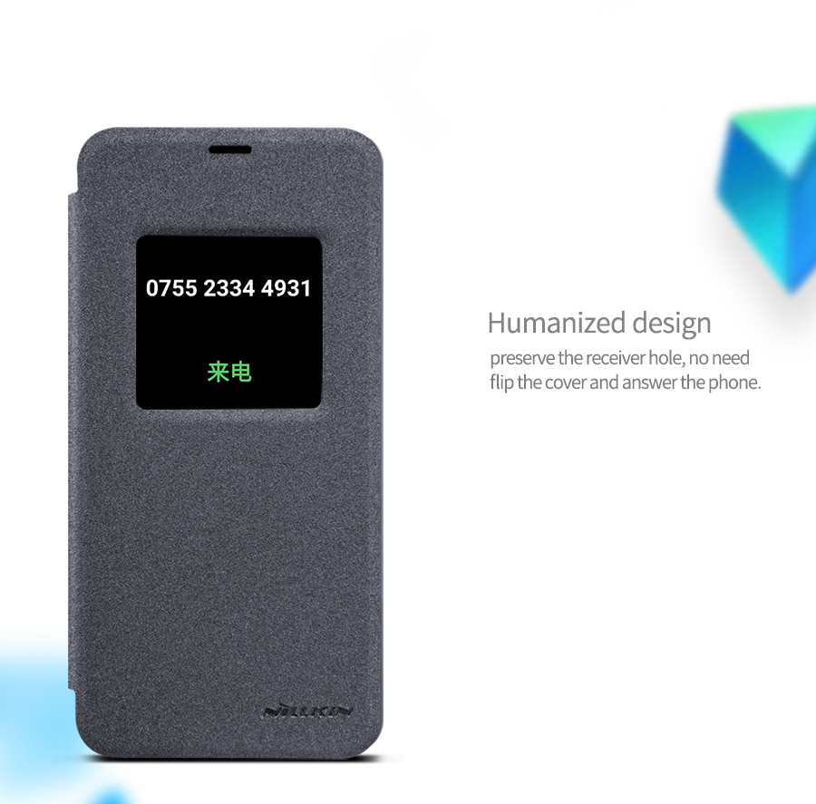 new arrivals ea657 559cc Nillkin LG G6 Window Smart Case Cover