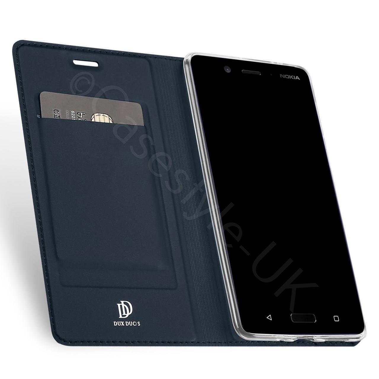 sale retailer 591b3 24c8b Nokia 8 Case Cover Blue