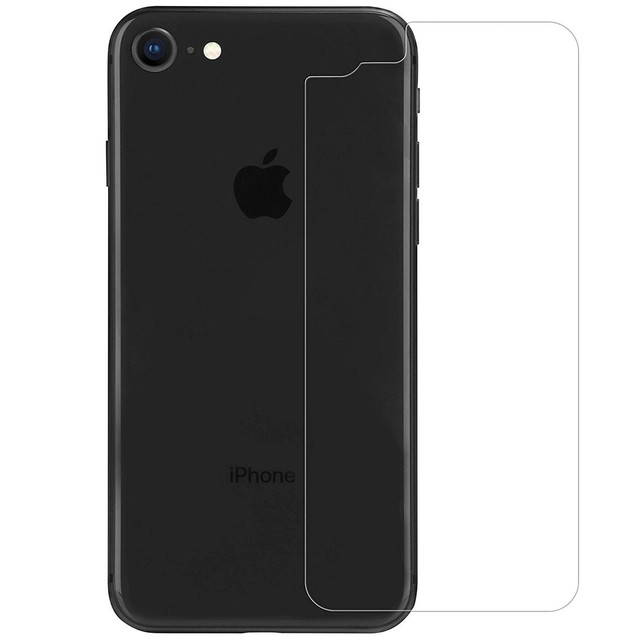 buy popular 0e1e3 962d9 iPhone 8 Back Tempered Glass Protector