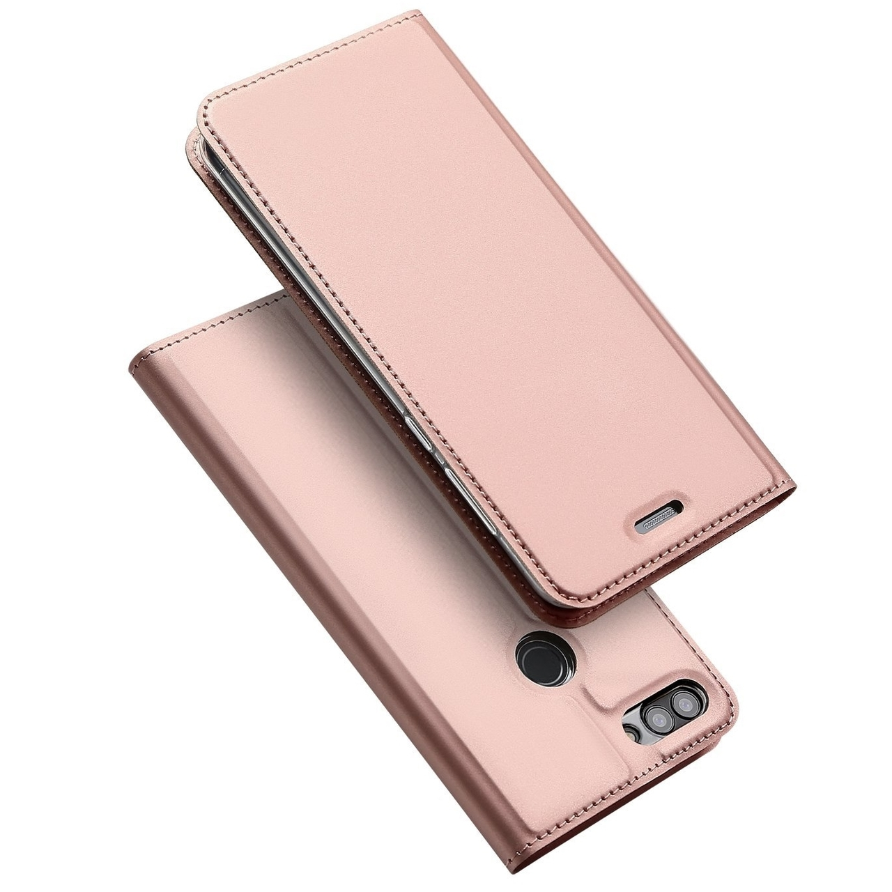 new product af33c 9ed98 Huawei P Smart Case Cover Rose Gold