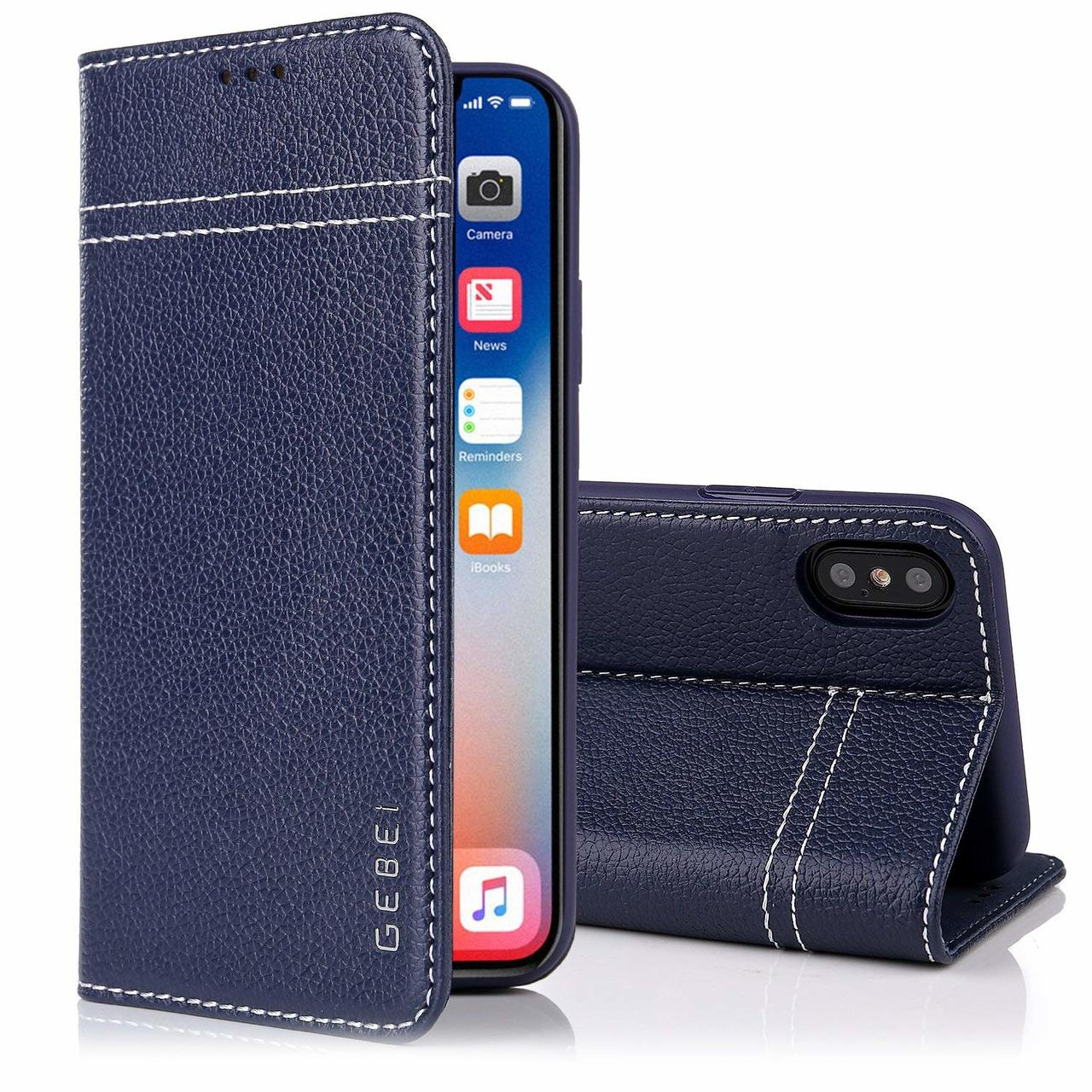 info for 10bde 520e9 iPhone XS Max Real Leather Case