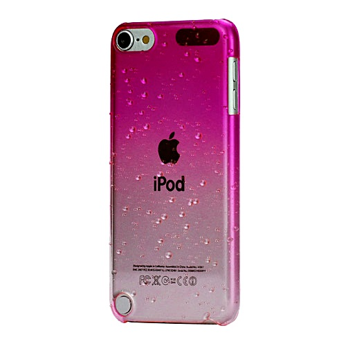 new style 45b18 6b396 iPod Touch 6/5 Pink Clear Gradient Case