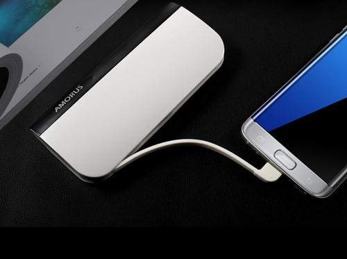 Pisen Portable Power 6600mAh PowerBank Laddare för iPhone iPad Tablet