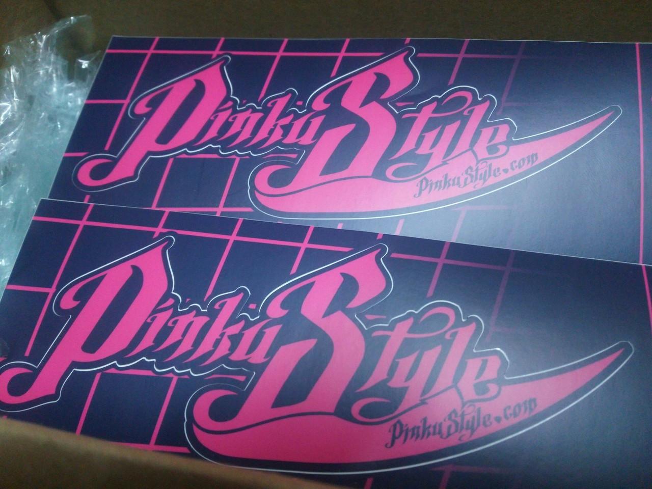Pinku Style 01 Sticker Large Size Kiss Cut Set (2)